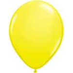 11 inch latex, 100ct - Standard Yellow