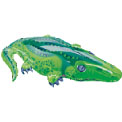 Alligator Super Shape Balloon - Uninflated