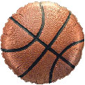 Basketball Foil - Uninflated