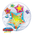 Multicoloured Stars Double Bubble