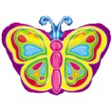 Butterfly Jr Shape Balloon - 45cm - Uninflated