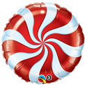 Candy Swirl 18inch - Red