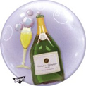 Bubbles Champagne Double Bubble - Uninflated