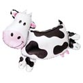 Cute Cow Super Shape Balloon - Uninflated