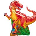Dinosaur T-Rex Super Shape Balloon - Uninflated