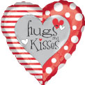 Hugs and Kisses Heart - Uninflated