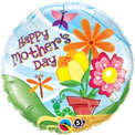 Happy Mothers Day Flowers and Butterflys