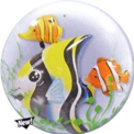 Seaweed Tropical Fish Double Bubble - Uninflated