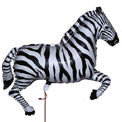 Zebra Supershape - Uninflated
