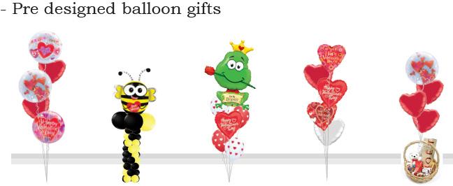 Valentine's Day Romantic Balloon Arrangements